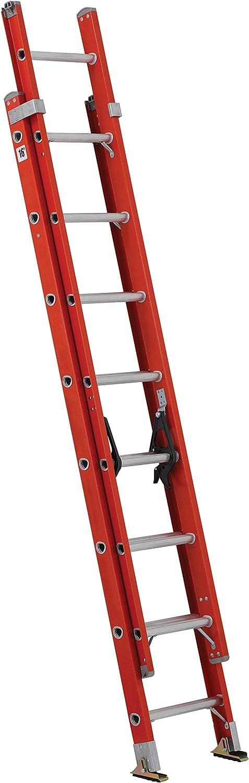 8. Louisville Fiberglass Extension Ladder FE3216