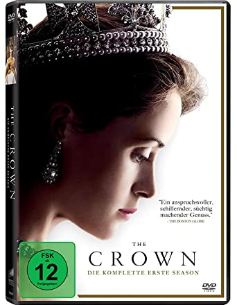 The Crown Die Komplette Erste Season 4 Dvds Amazon De Claire Foy Matt Smith Victoria Hamilton Claire Foy Matt Smith Dvd Blu Ray