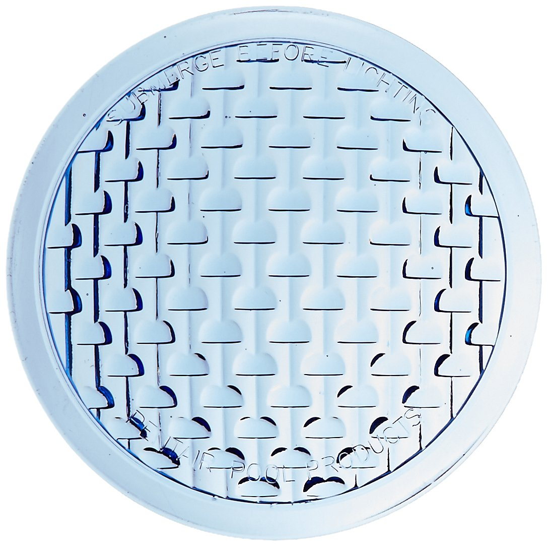 Pentair 79100200 Medium Blue Tempered Lens Cover and Face Ring Replacement Pool/Spa Light