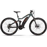 Haibike Sduro FullNine 8.0 - Bicicleta eléctrica de pedaleo asistido, montaña (29 pulgadas), color negro, verde y…