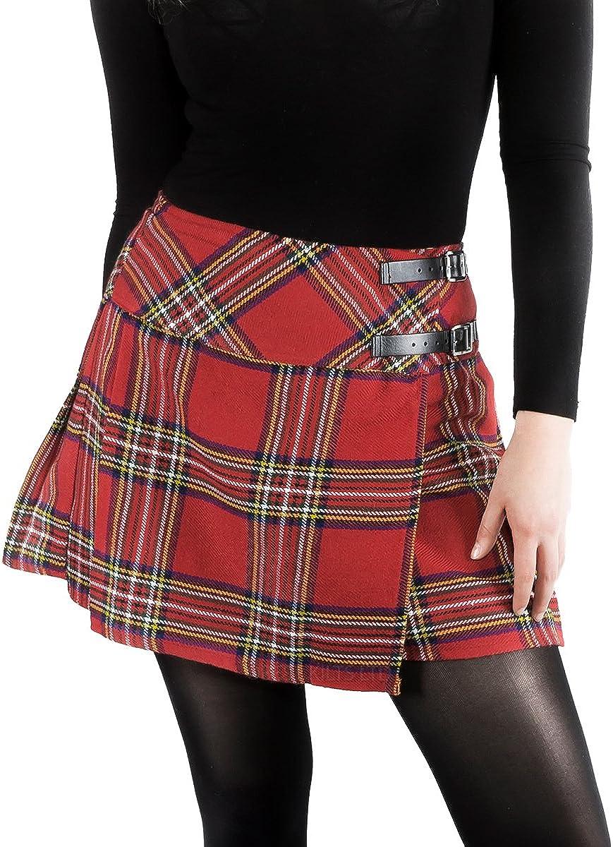 Best Kilts - Falda - falda escocesa - para mujer: Amazon.es: Ropa ...