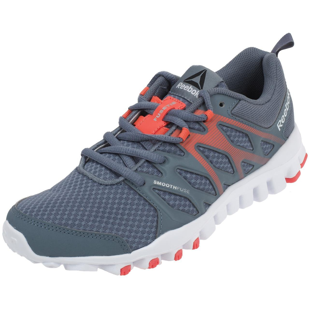 Reebok Realflex Train 4.0 Gris, Chaussures de Training/Fitness Femme