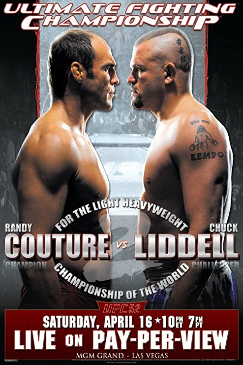 UFC MMA Chuck Liddell Tito Ortiz Canvas Print Framed Photo Picture Wall Artwork