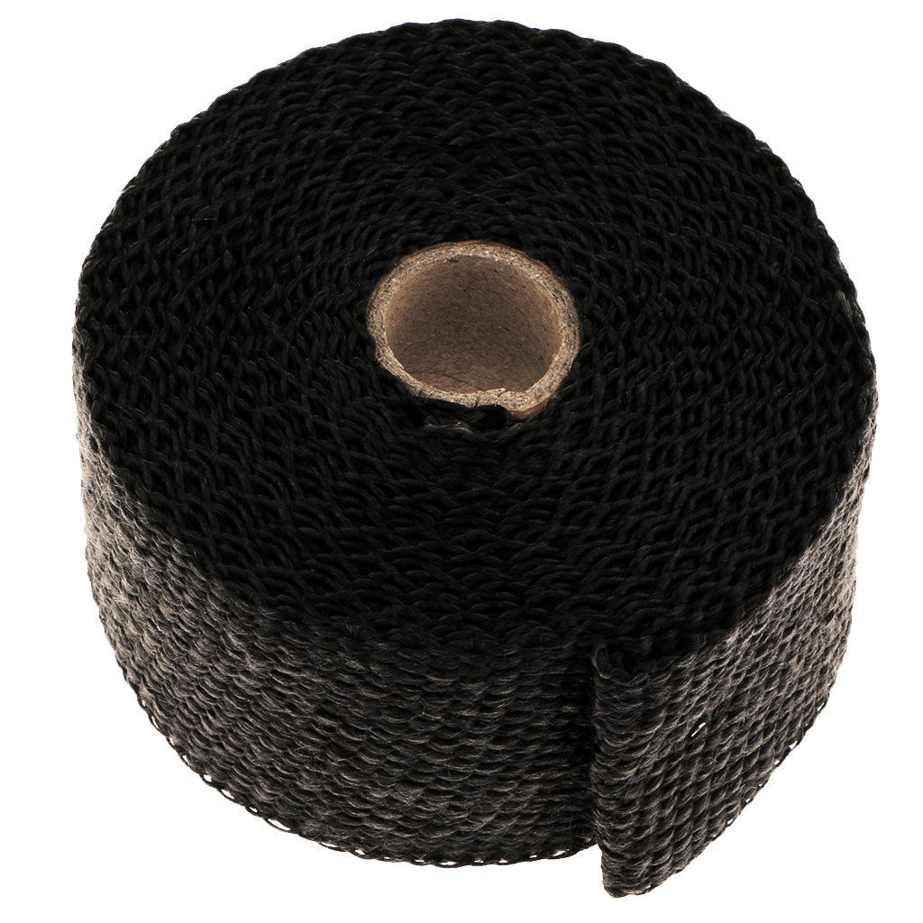 Gr/ün perfk Fahrzeuge Auspuffband Thermoband Kr/ümmerband Hitzebest/ändig Basaltfaser Isolierband