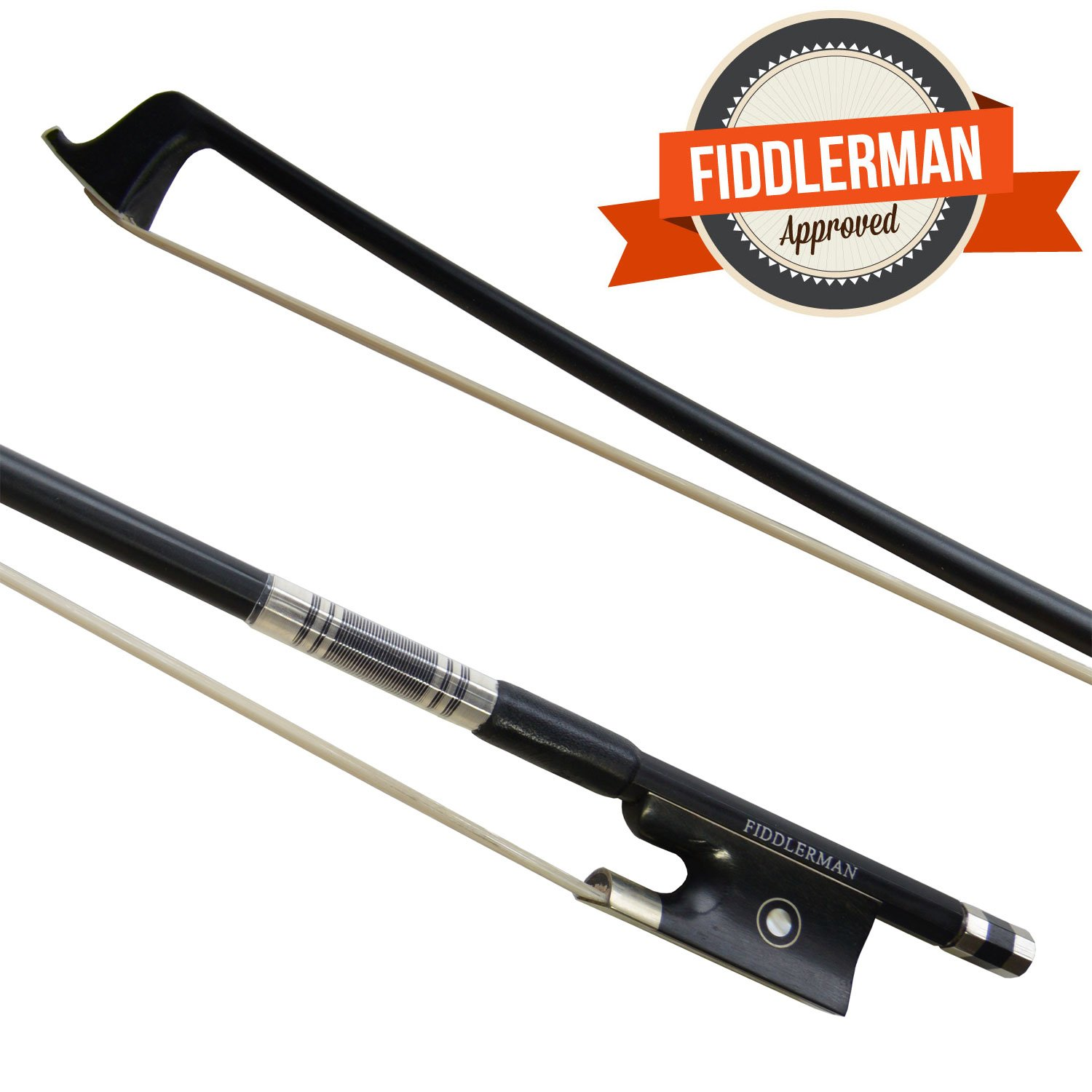 Fiddlerman Carbon Fiber Violin Bow 4/4 Fid-8826
