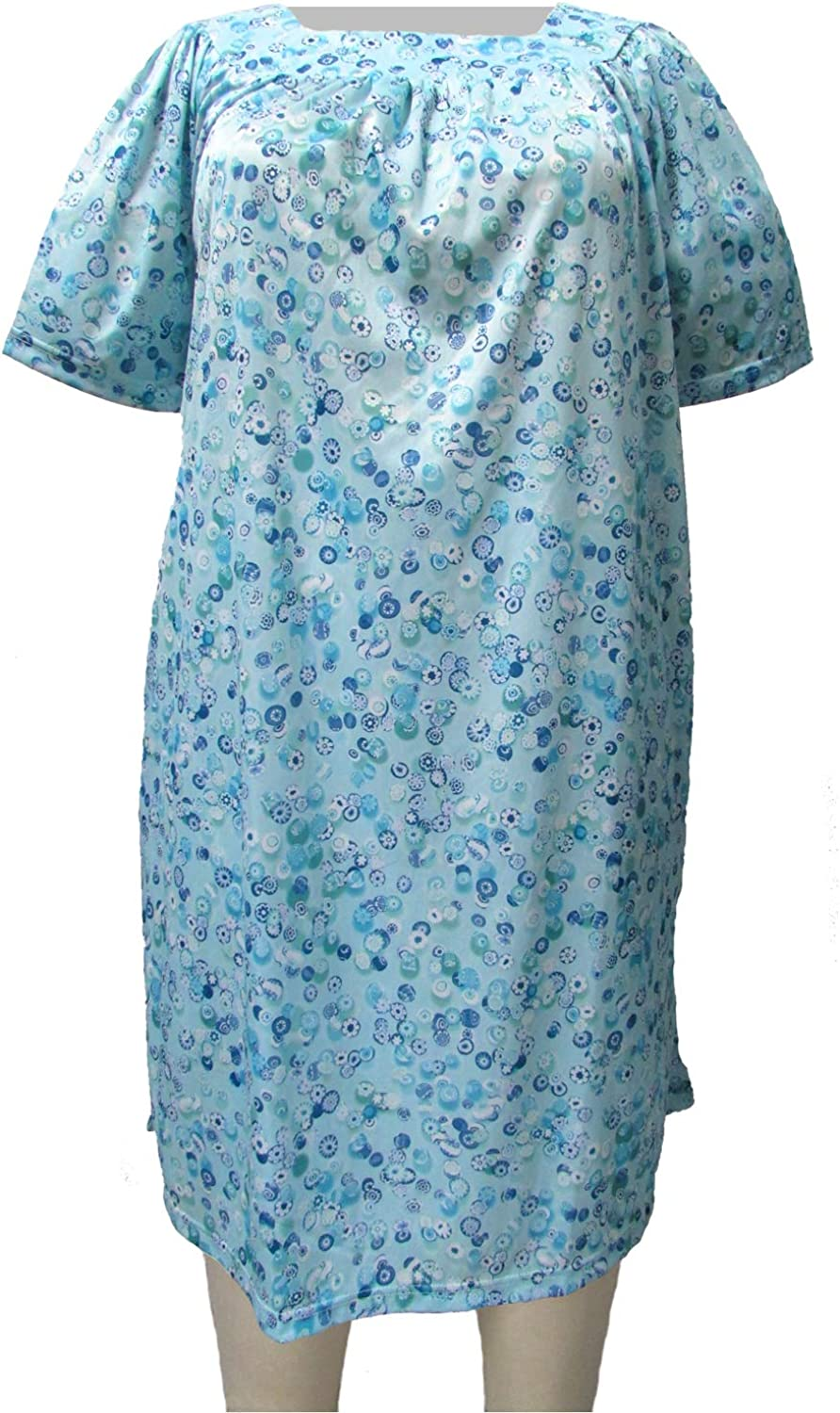 A Personal Touch Womens Plus Size Square Neck Lounging Dress