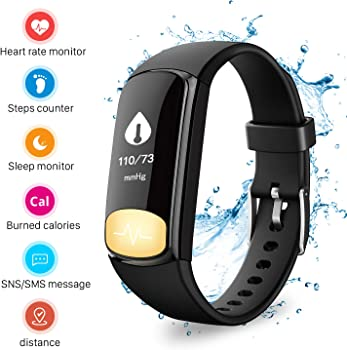 Mbuynow Fitness Tracker Smart Watch with Heart Rate Monitor