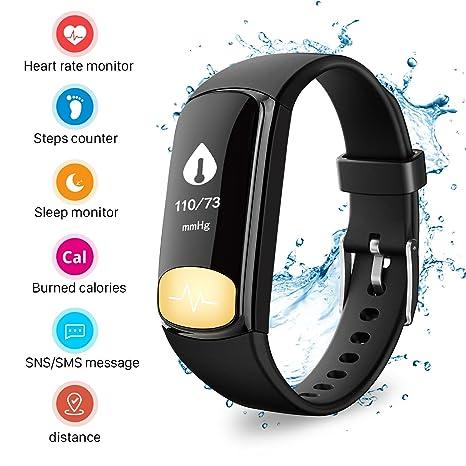 Wasserdichter Ip67 Mit Armbanduhr Pulsmesser Aktivität Blutdruckmesser Herzfrequenzmesser Uhr Fitness Tracker WasserdichtMbuynow Bluetooth wTPkXZOiu