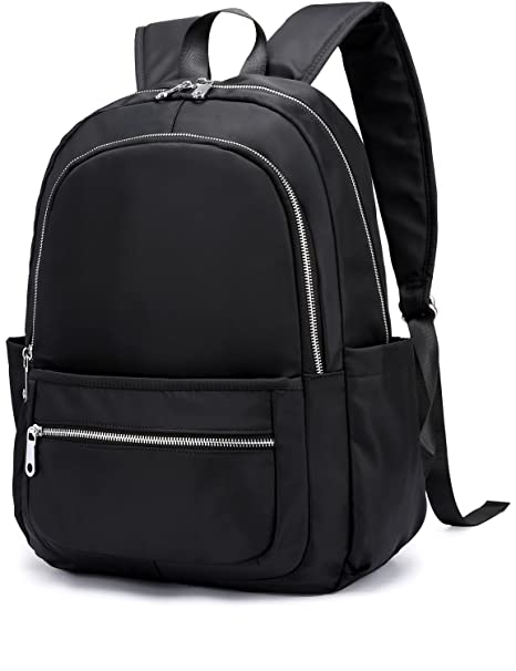 1622cb4ccb39 Luckysmile Women Girl Casual Nylon Backpack Purse Travel Work College  School Bag  Amazon.ca  Luggage   Bags