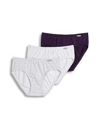 c443a3fa050 Jockey Women s Underwear Plus Size Elance Bikini - 3 Pack at Amazon ...
