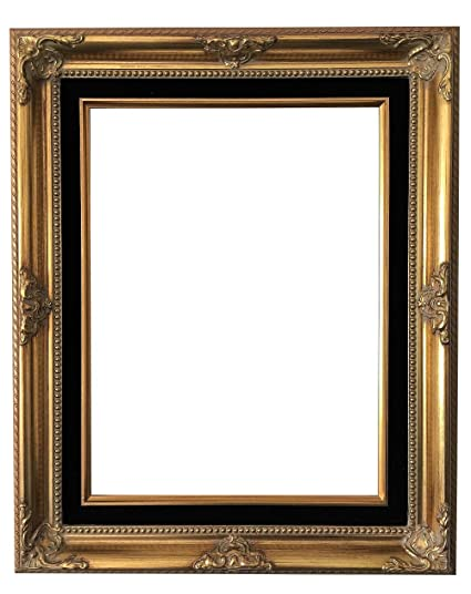 Amazon.com - West Frames Estelle Antique Gold Black Velveteen Liner ...