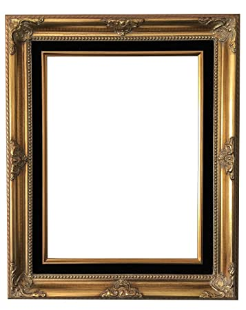 Amazoncom West Frames Estelle Antique Wood Baroque Picture Frame