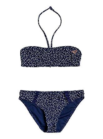 b657157e9e Roxy Seaside Lover - Ensemble de Bikini Bandeau pour Fille 8-16 Ans  ERGX203211: Roxy: Amazon.fr: Vêtements et accessoires