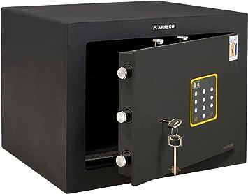 Arregui - Caja fuerte sobreponer certificada/o t1 electrico/a llave: Amazon.es: Bricolaje y herramientas