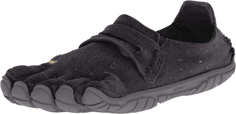Five Fingers Men's CVT-Hemp Minimalist Casual Walking Shoe (43 EU/9.5-10, Black)