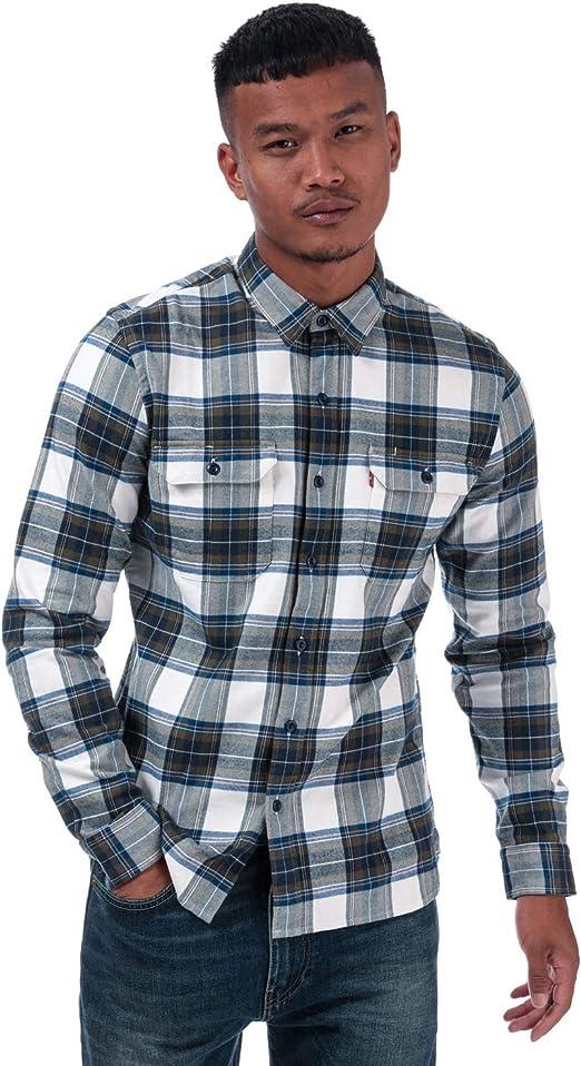 Camisa Levis Jackson Worker Olive Hombre L Verde: Amazon.es: Ropa y accesorios