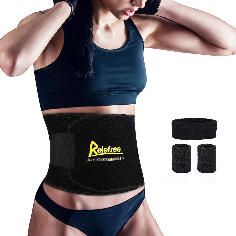 Details about  /Unisex Waist Trimmer Belt Waist Trainer Sweat Shaper Slim Belt Shapewear Tools