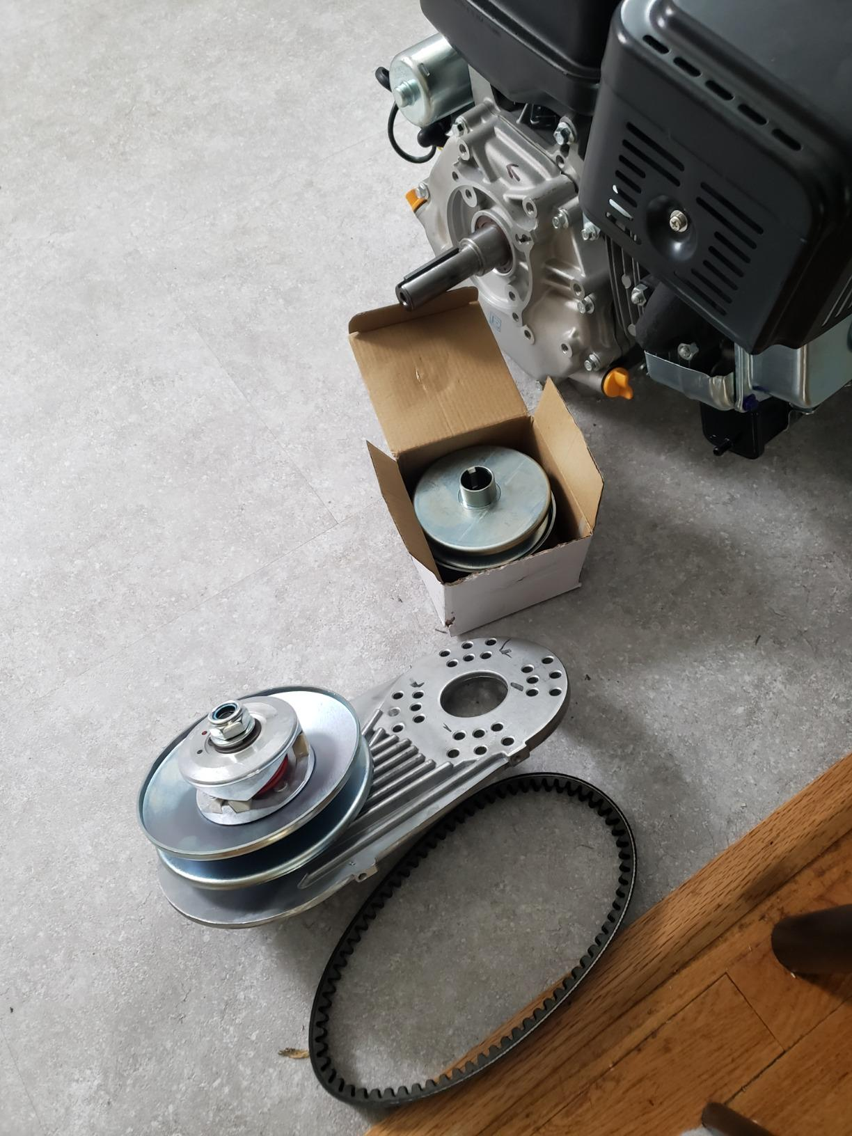 Mophorn Torque Converter Comet Clutch Go Kart Clutch 1Inch