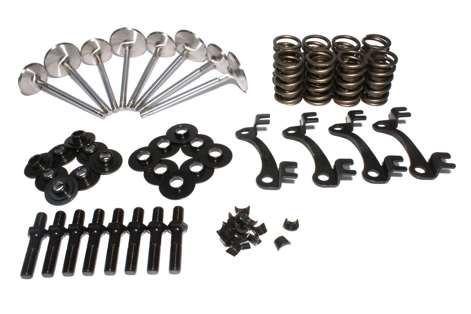 1.5 2.30//1.88 COMP Cams 11924-02 Cylinder Head Assembly Kit