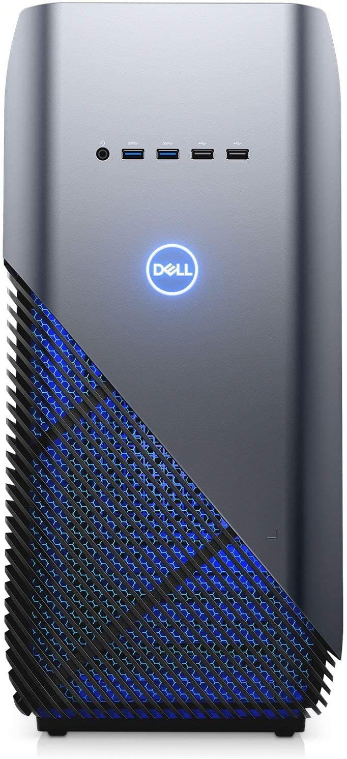 Dell Inspiron 5680 Gaming Desktop Intel 8th Gen. Core i7-8700 6 Core up to 4.60 GHz, 16GB DDR4 Memory, 256GB SSD + 1TB SATA Hard Drive, 8GB Nvidia GeForce GTX 1070, Windows 10 Home, Recon Blue