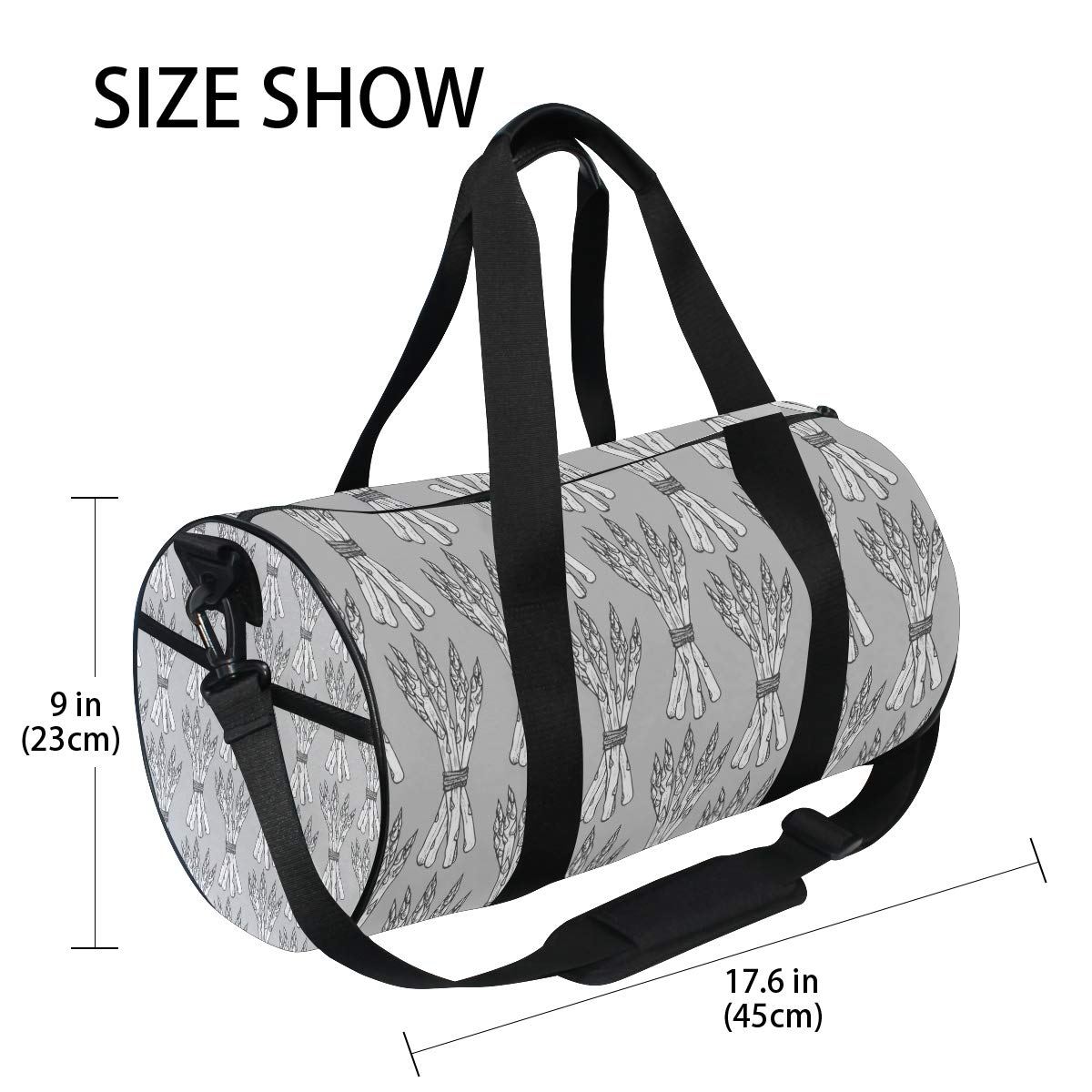 Waterproof Non-Slip Wearable Crossbody Bag fitness bag Shoulder Bag Vegetable Basket Picture