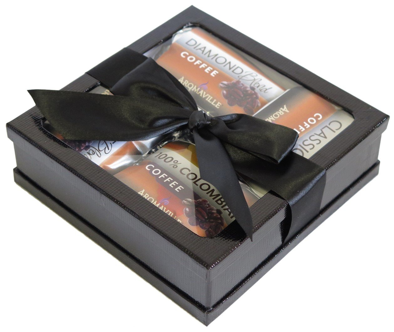 Gourmet Coffee Gift Set - Coffee Gift Basket - Coffee Lovers Gifts - Coffee Gift Set - Best Coffee Gift (Black)