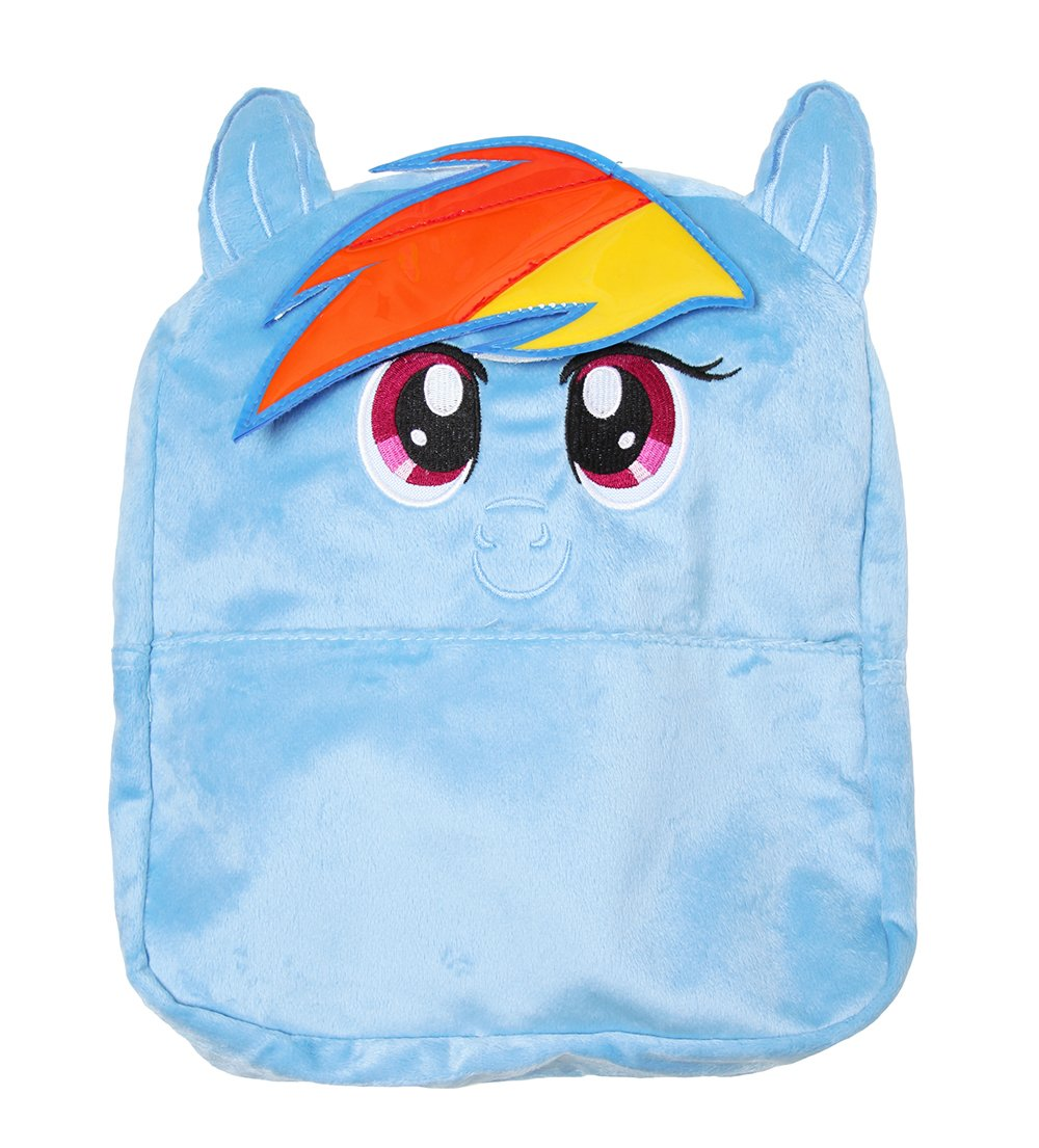 """My Little Pony Small Backpack Rainbow Blue 12"""""""