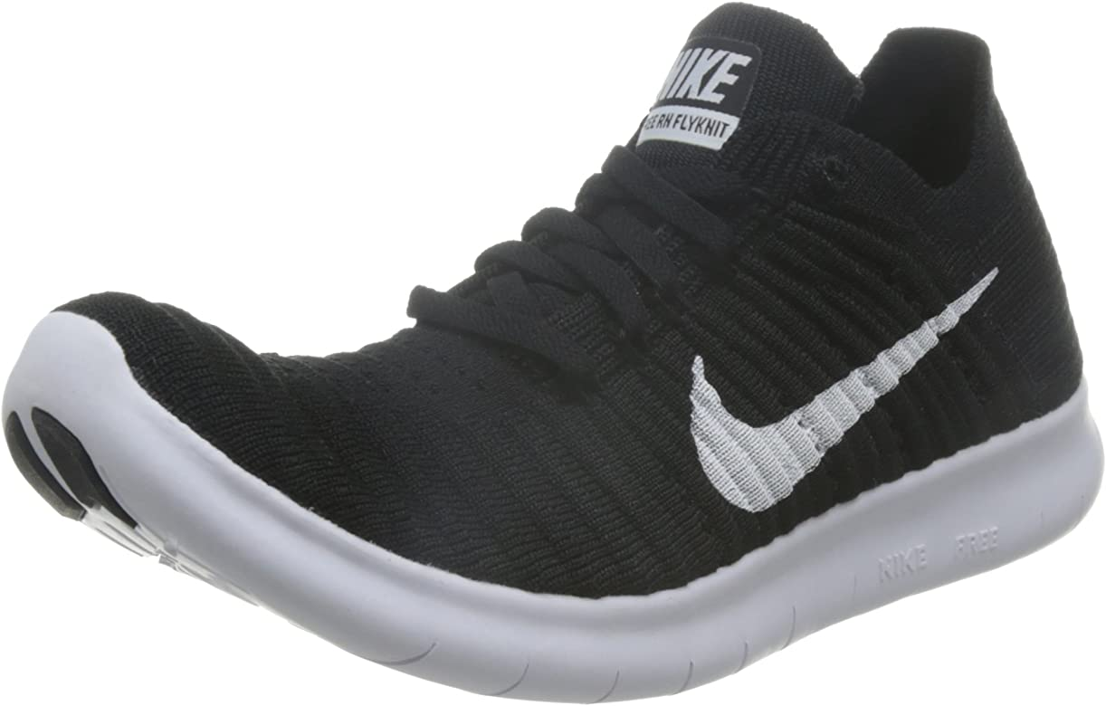 mar Mediterráneo seguro Betsy Trotwood  Amazon.com | Nike Women's Free Running Motion Flyknit Shoes, Black ...