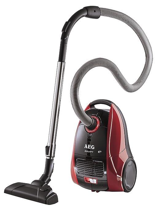 AEG Vampyr Equipo AEQ Cleaners 12 de vacío con bolsas de vacío Eek F (1400 vatios, 3.5 litros de volumen, filtro Micro - Negro / Antracita [Clase de ...