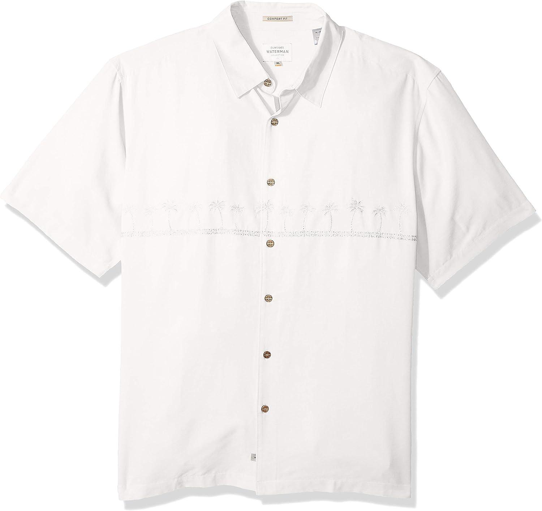 Quiksilver Mens Tahiti Palms 4 Button Down Shirt