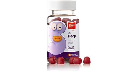 60-Count Chapter One Melatonin Gummies Supplement only $1.62