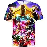 Bettydom T-Shirt à Manches Courtes Jeu Vidéo Enfant Unisexe avec Motif de 3D Anime