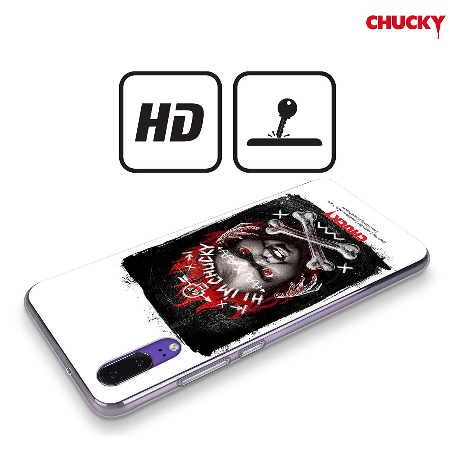 Amazon.com: Official Childs Play Hi Im Chucky Grunge Key ...
