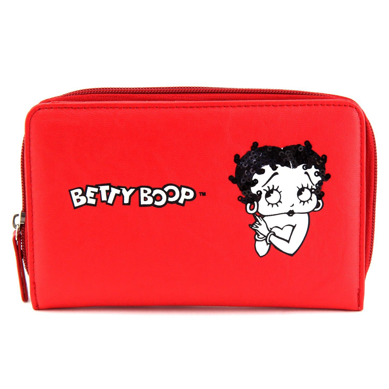 Betty Boop Porte Monnaie (Rouge) 11-0273