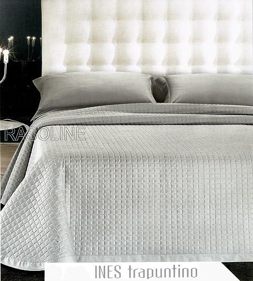 Generico - Colcha de 135 euros para cama de matrimonio, color gris ...