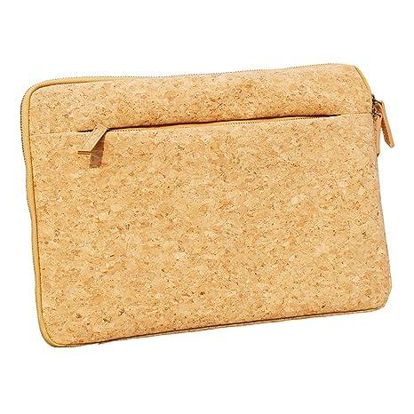 ECO-friendly corcho funda protectora funda bolsa para portátil con cremallera para Apple MacBook Air