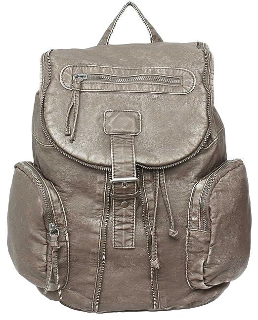 Primark - Bolso mochila para mujer beige beige M: Amazon.es: Ropa y accesorios