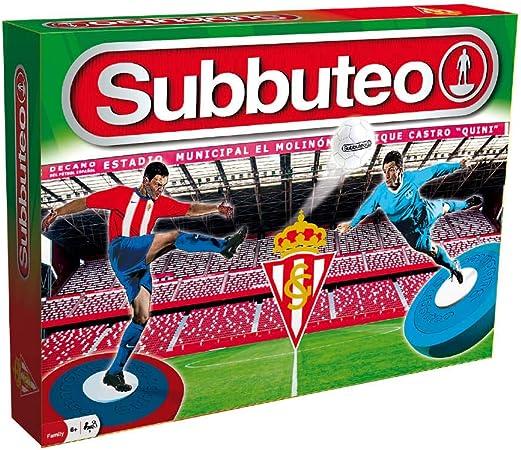 Subbuteo 10568 Subbuteo Playset Real Sporting de Gijón, Blanco ...