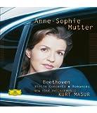 ヴァイオリン協奏曲、ロマンス第1番、第2番 ムター、マズア&ニューヨーク・フィル