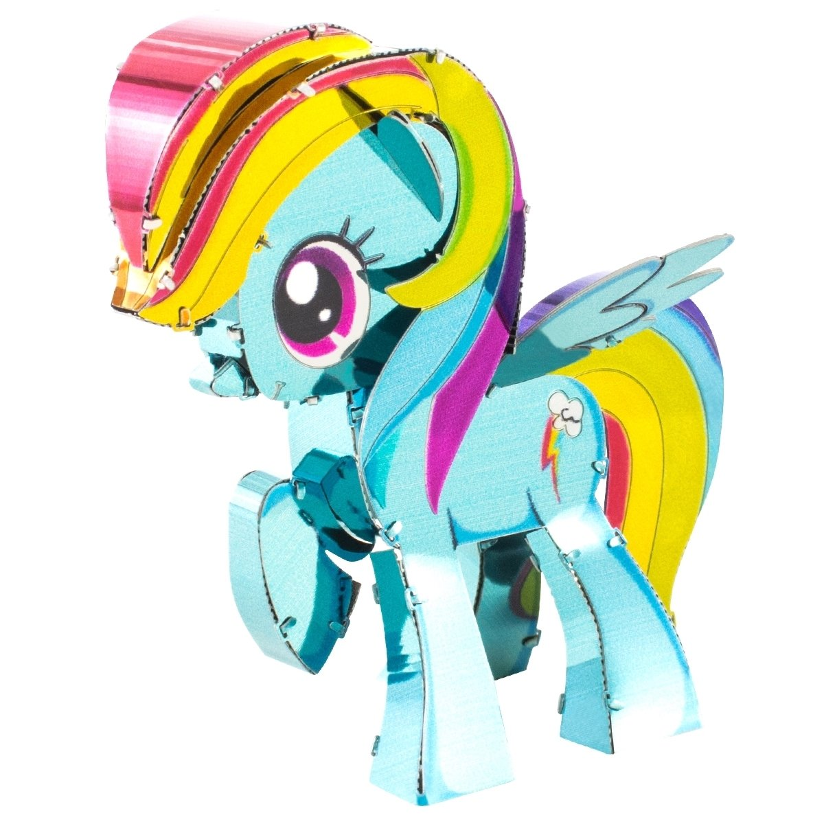 Fascinations Metal Earth My Little Pony Rainbow Dash 3D Metal Model Kit