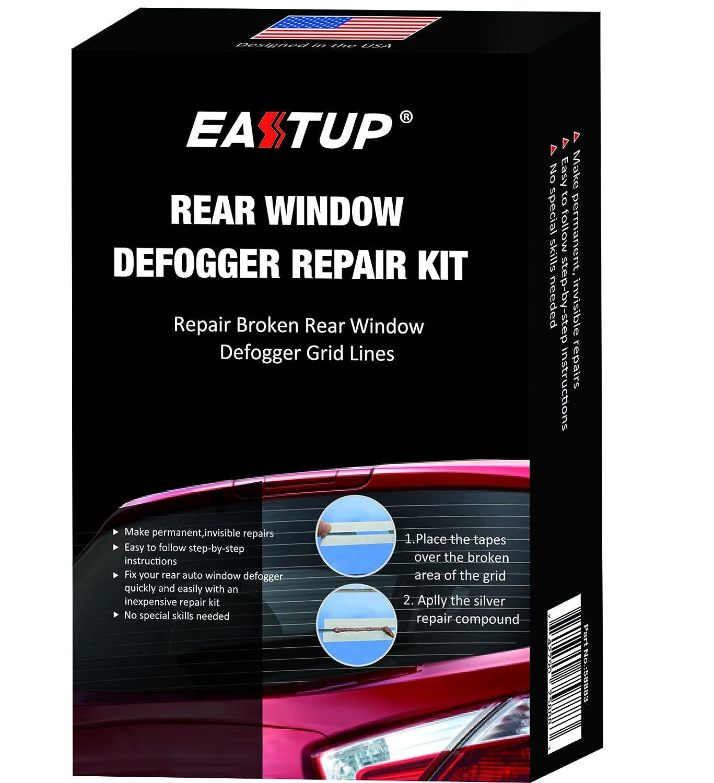 Eastup Rear Window Defogger Defroster Repair Kit Fix Broken Grid Lines Just Two Steps No Professional Skills Needed EASTUP INDUSTRIAL