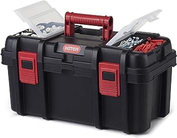 Keter Pro caja de herramientas 19, Negro por Keter: Amazon.es: Bricolaje y herramientas