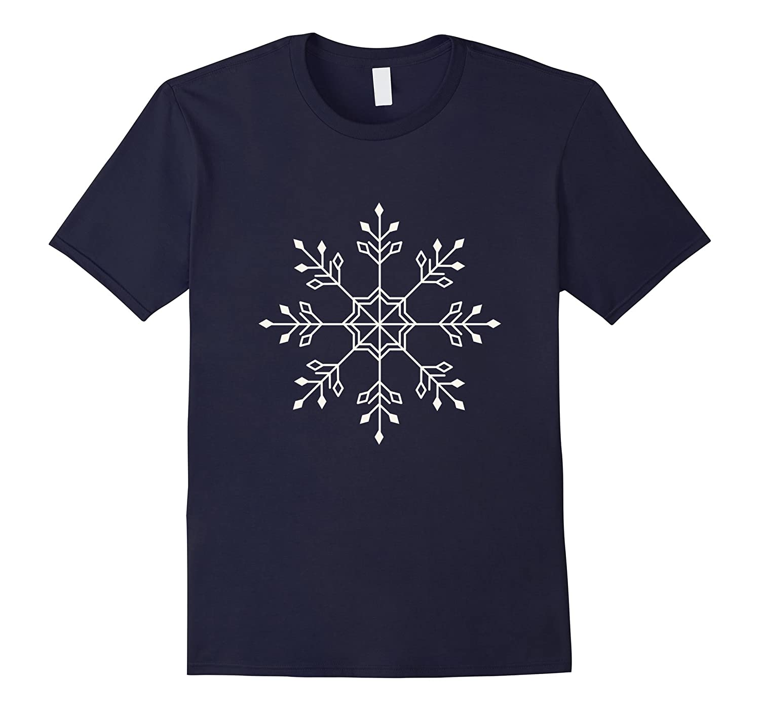 Large Snowflake TShirts White-CL