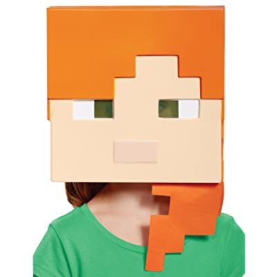 Alex Minecraft Child Mask: Toys & Games