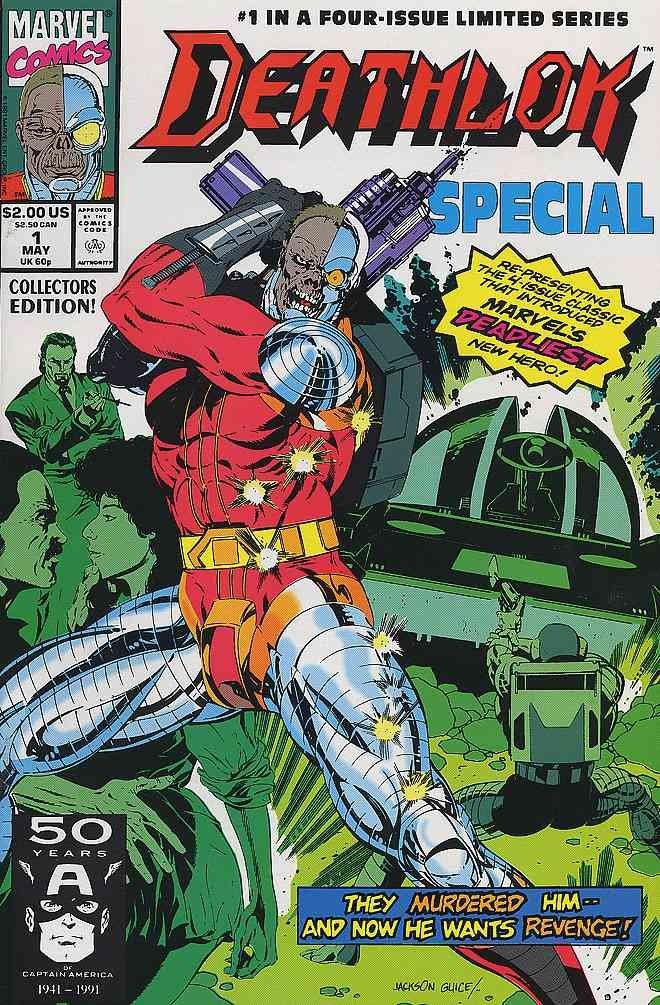 DEATHLOK SPECIAL 1-4 reprints classic 1990 mini-series!