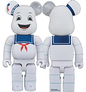 1b7e9304fec1 Medicom Ghostbusters Stay Puft Marshmallow Man 400% Bearbrick Action Figure