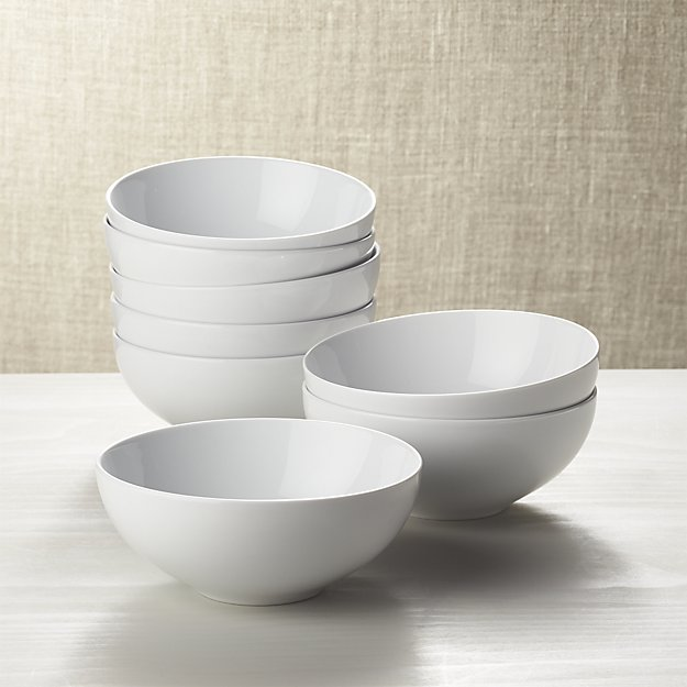 Set of 8 Essential Bowls | Crate and Barrel