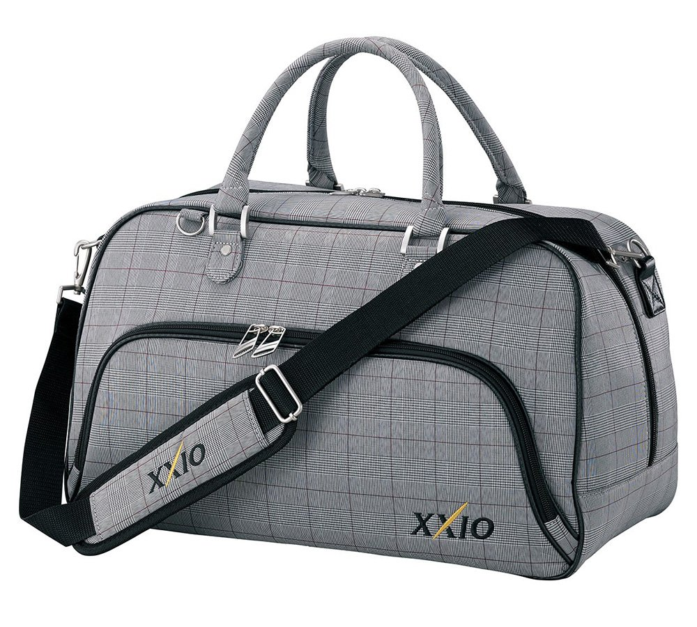 ダンロップ XXIO ボストンバッグ スポーツバッグ B079Y75744 グレンチェック グレンチェック