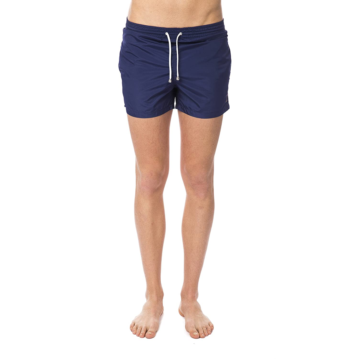 Bagutta Beachwear Man& 039;s Boxer Short Costume Basic Seal
