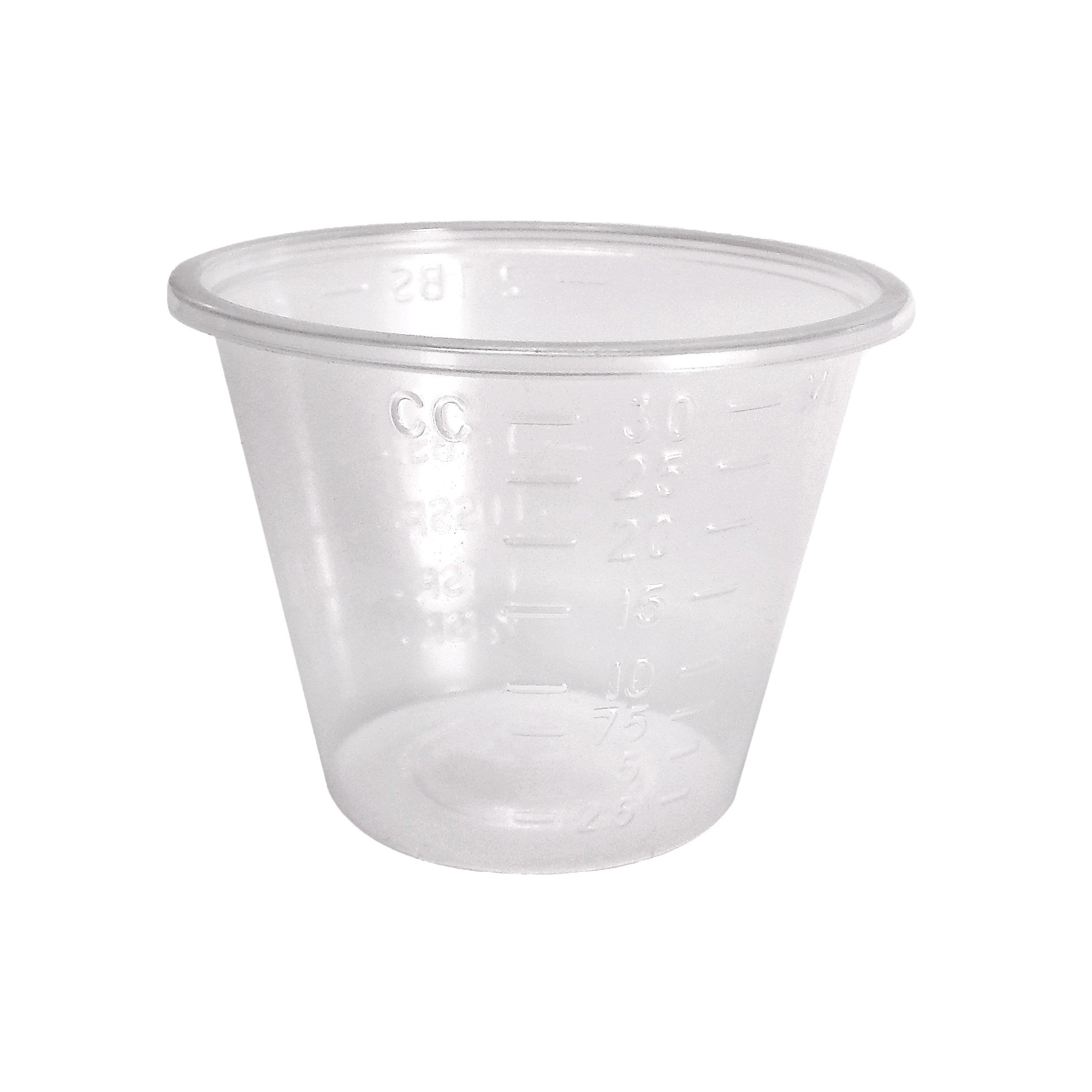 Medegen Medical Products 02301 Medicine Cup, 1 fl. oz. Capacity (Pack of 5000)